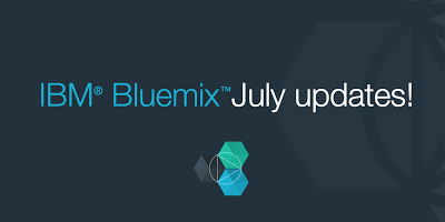 Bluemix UI Updates: July 2014