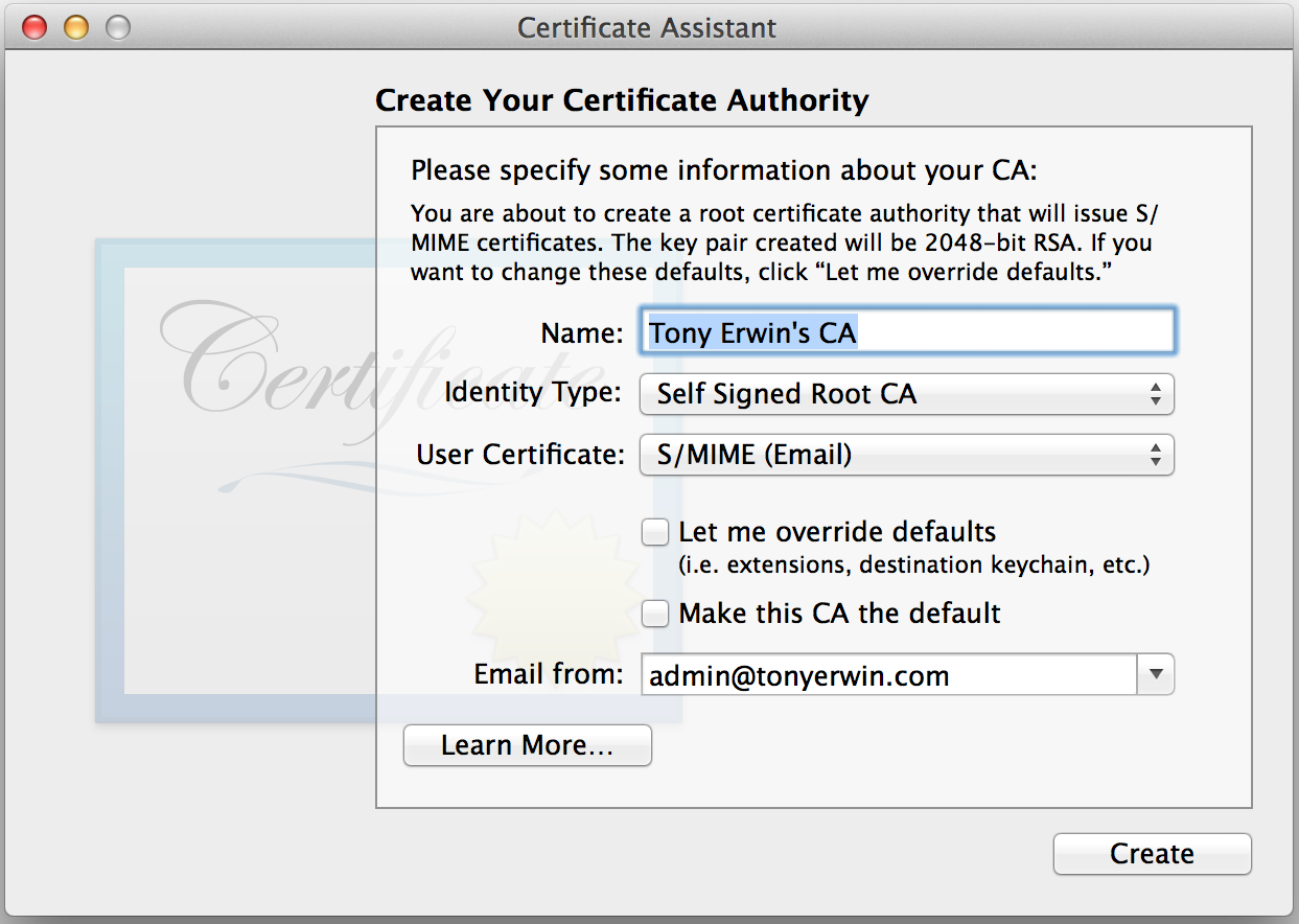 Generating Self Signed Ssl Certificates For Use With Bluemix Custom